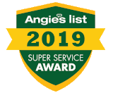 Angies List 2019 Super Service Award for Garage Door Repair