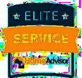 Home Advisor Elite Service Award for Garage Door Repair