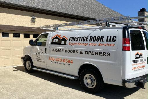 Garage Door Repair Van