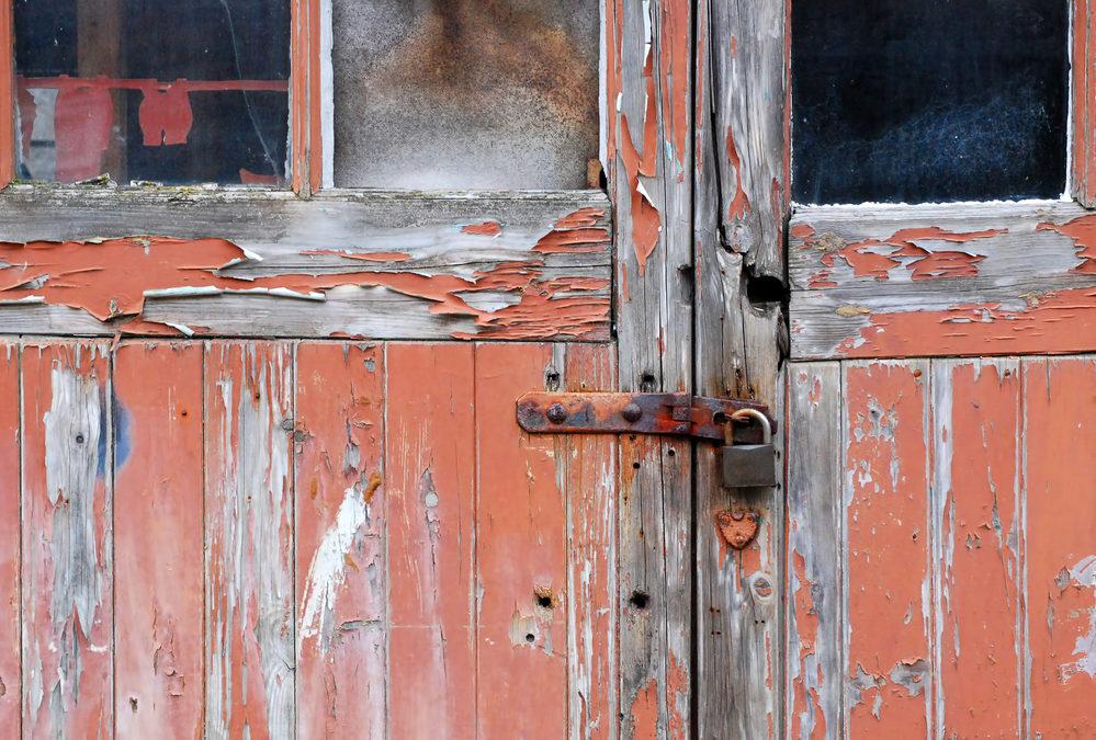 Old garage door Akron